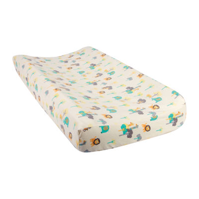 Trend Lab® Lullaby Jungle Flannel Changing Pad Cover