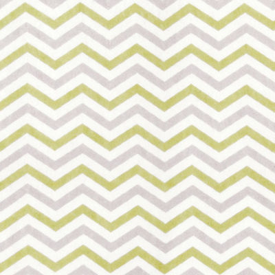 Trend Lab® Chevron Flannel Changing Pad Cover - Sage