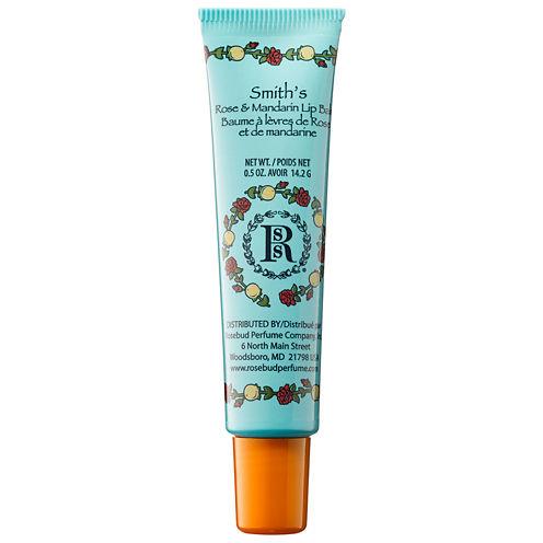 Rosebud Perfume Co. Rose & Mandarin Lip Balm