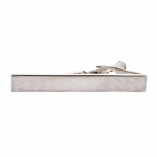 Collection By Michael Strahan Diamond Pattern Tie Bar