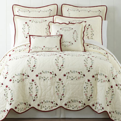 Home Expressions Hope Chest Embroidered Quilt Jcpenney