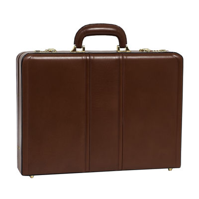 "McKleinUSA Coughlin Leather 4.5"" Expandable Attaché Briefcase"