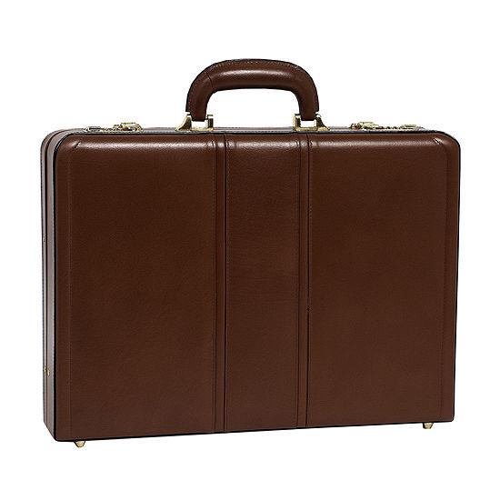 "McKleinUSA Coughlin Leather 4.5"" Expandable Attaché Briefcase"