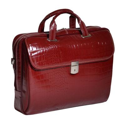 """McKleinUSA Settembre 15.4"""" Leather Medium Laptop Briefcase"""