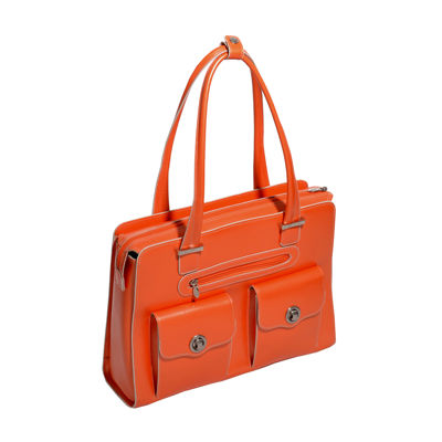 "McKleinUSA Verona 15.4"" Leather Fly-Through™ Checkpoint-Friendly Laptop Briefcase"