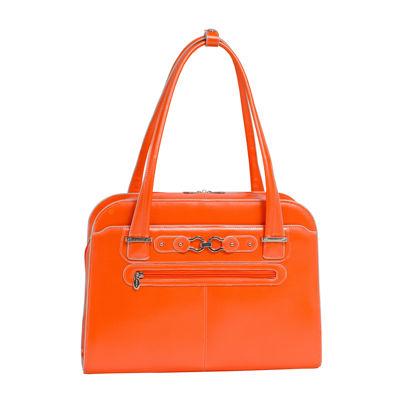 "McKleinUSA Oak Grove 15.4"" Leather Fly-Through™ Checkpoint-Friendly Laptop Briefcase"