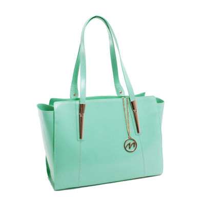 McKleinUSA Aldora Leathe Tote with Tablet Pocket