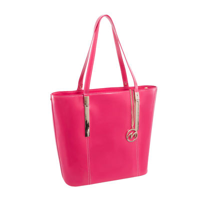 McKleinUSA Cristina Leather Tote with Tablet Pocket