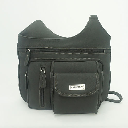 St. John's Bay® Multi-Directional Crossbody Bag