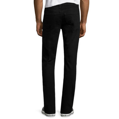 Arizona Flex Denim Slim-Fit Straight-Leg Jeans