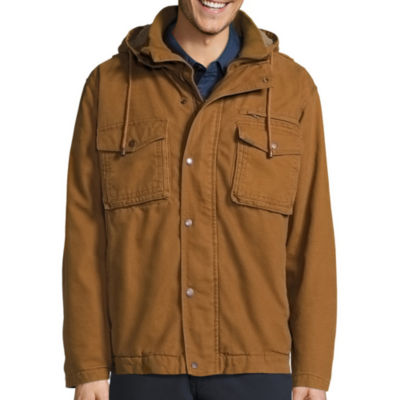 Smith's Workwear Sherpa-Lined Duck-Cotton Work Jacket