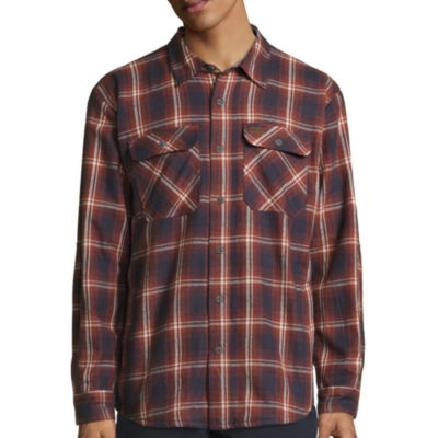 Smith's Workwear Fleece Lined Flannel Shirt Jacket