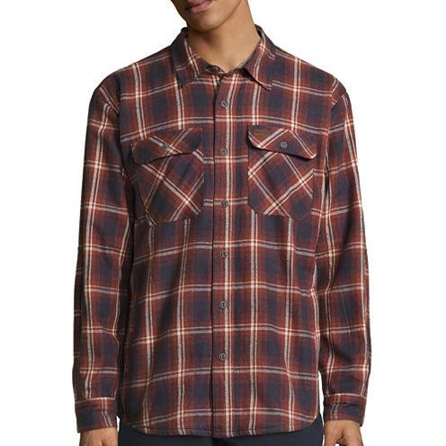 Smith's Workwear Fleece Lined Flannel Shirt Jacket