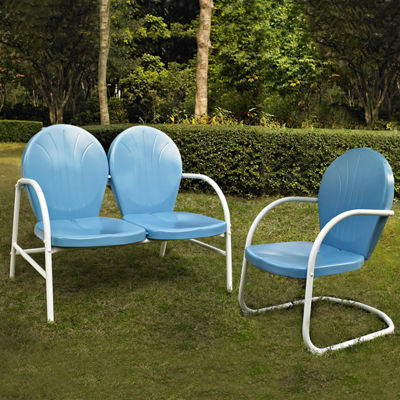 Crosley Griffith Metal 2-pc. Patio Lounge Set