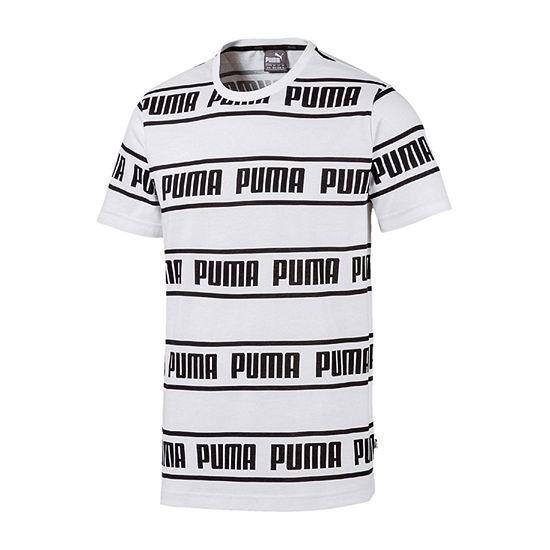 Puma Mens Crew Neck Short Sleeve T-Shirt