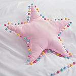 Frank And Lulu Star Pom Pom Throw Pillow