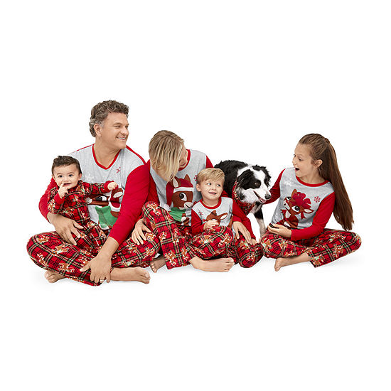 North Pole Trading Co. Rudolph the Red Nosed Reindeer Family Pajamas