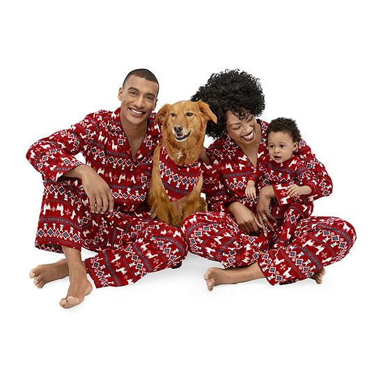 North Pole Trading Co. Llama Family Pajamas