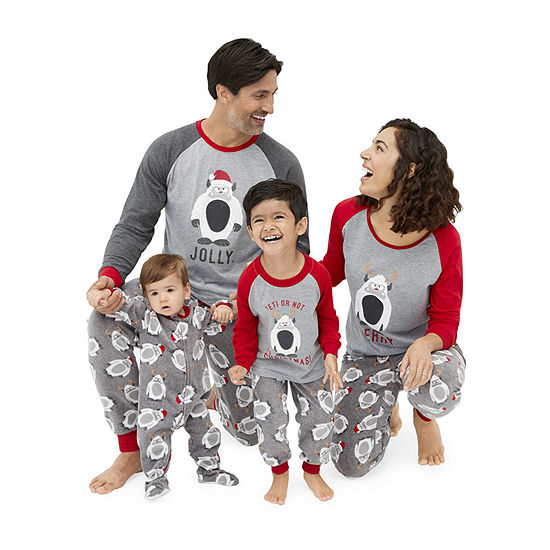 Holiday #Famjams Yeti Family Pajamas