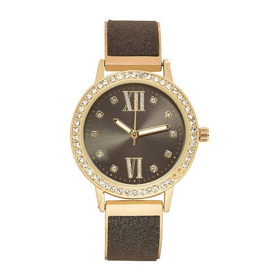 Geneva Womens Two Tone Bracelet Watch - Wac8716jc