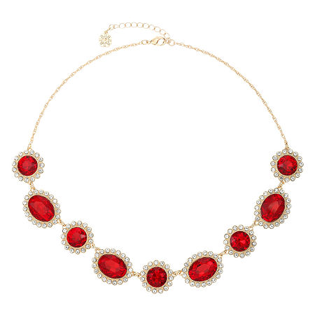 Monet Jewelry 18 Inch Rope Collar Necklace, One Size , Red
