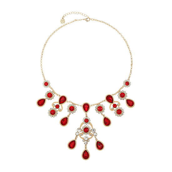Monet Jewelry 18 Inch Rolo Statement Necklace