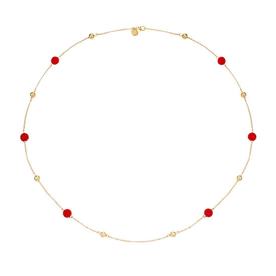 Monet Jewelry 34 Inch Rolo Strand Necklace