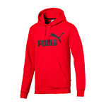 Puma-Big and Tall Mens Long Sleeve Hoodie