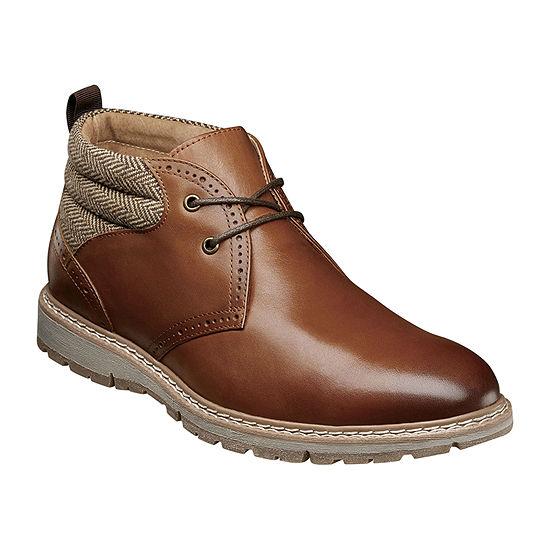 Stacy Adams Mens Grantley Chukka Boots Flat Heel