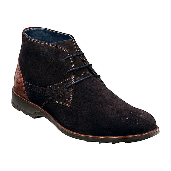 Stacy Adams Mens Kingston Chukka Boots Flat Heel