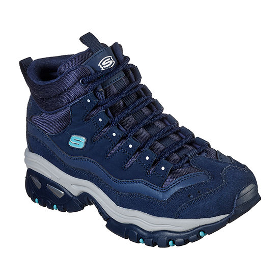 Skechers Womens Enery Cool Rider Lace Up Flat Heel Boots