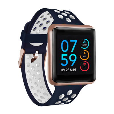 Itouch Air Se Womens Multi-Function Blue Smart Watch-Ita42101r75c-743