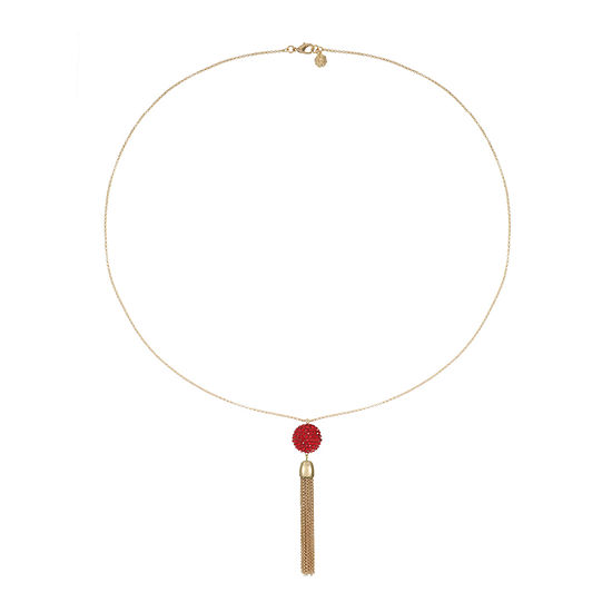 Monet Jewelry 32 Inch Cable Pendant Necklace
