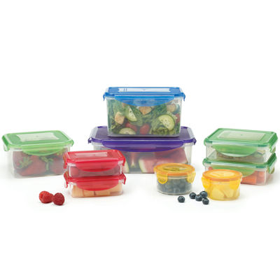 Farberware® 18-pc. Locking Food Storage Set