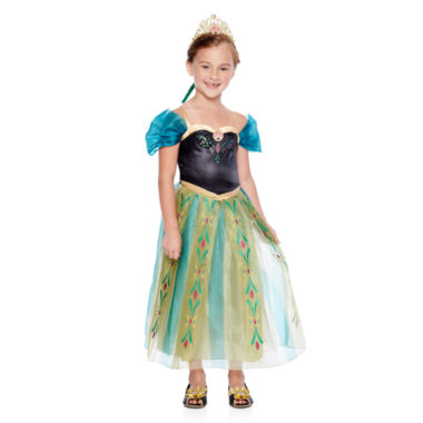 jcpenney.com   Disney Collection Anna Coronation Costume, Tiara or Shoes
