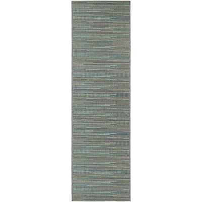 Couristan® Larvotto Indoor/Outdoor Rectangular Runner Rug