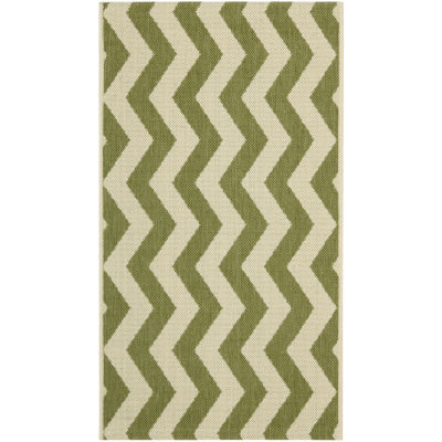 Safavieh Courtyard Collection Kalisha Geometric Indoor/Outdoor Area Rug