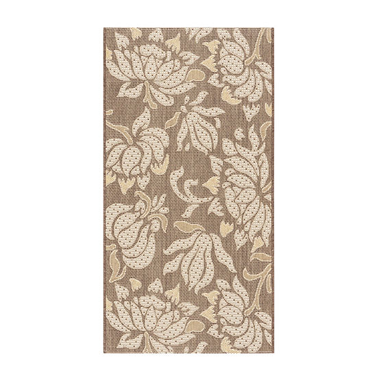 Safavieh Courtyard Collection Todor Indoor/Outdoor Area Rug