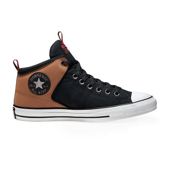 Converse Chuck Taylor All Star Hi Street Hi Wordmark Mens Sneakers