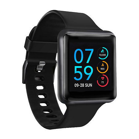 Itouch Air Se Mens Multi-Function Black Smart Watch-41101b-51-003, One Size
