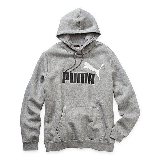 Puma-Big and Tall Mens Long Sleeve Hoodie