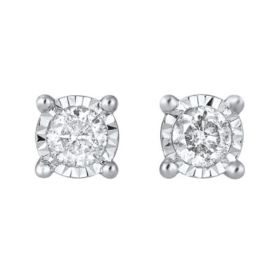 ¼ CT. T.W. TruMiracle® Diamond Stud Earrings