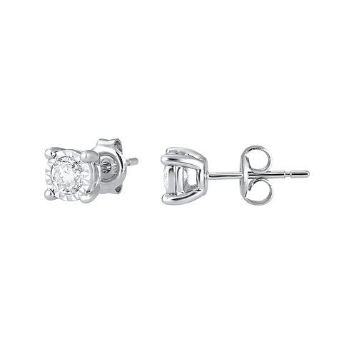 ½ CT. T.W. TruMiracle® Diamond Stud Earrings