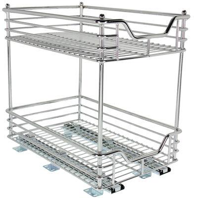 """Household Essentials® Glidez® 11½"""" Two-Tier Sliding Cabinet Organizer"""