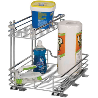 "Household Essentials® Glidez™ 12½"" Under-the-Sink Sliding Cabinet Organizer"