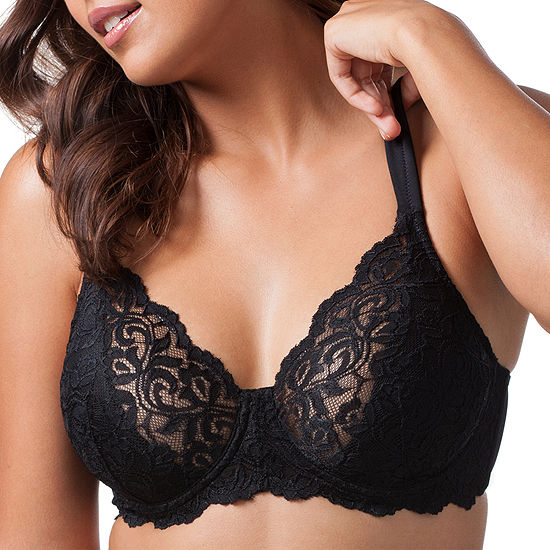 Leading Lady® Full Figure Padded Lace Underwire Bra