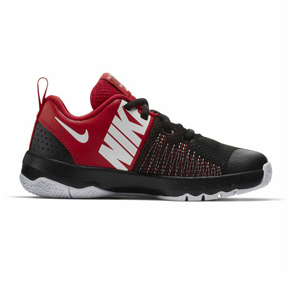 Nike Team Hustle Quick Boys Basketball Shoes - Little Kids