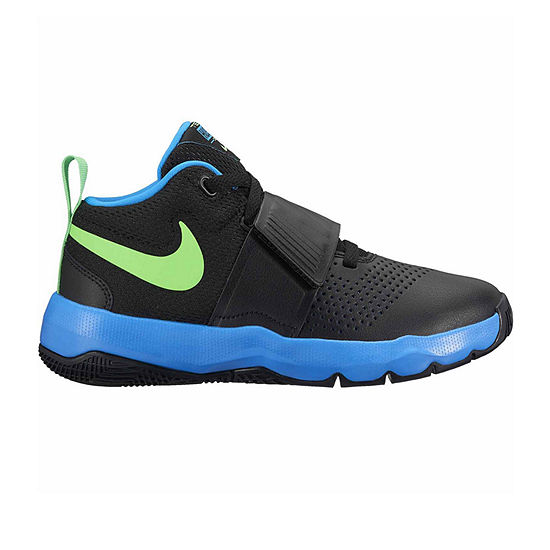 Nike Team Hustle D Boys Basketball Shoes - Big Kids