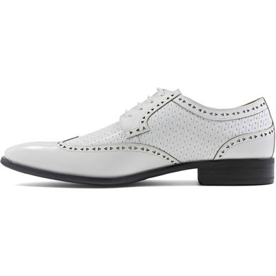 Stacy Adams Melville Mens Oxford Shoes Lace-up Wing Tip