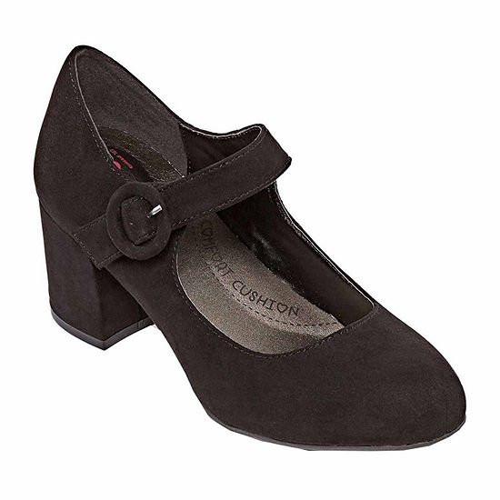 Pop Womens Flair Mary Jane Shoes Closed Toe